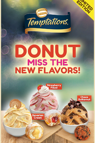 Donut miss the new flavors